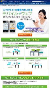 Bizマーケティング モバイルウェブ